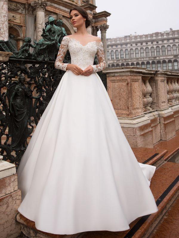 091536fdbc4a690 Свадебное платье S7191 129 000 ₽